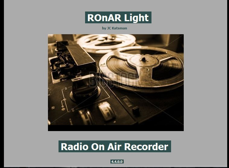 RonarLight Intro